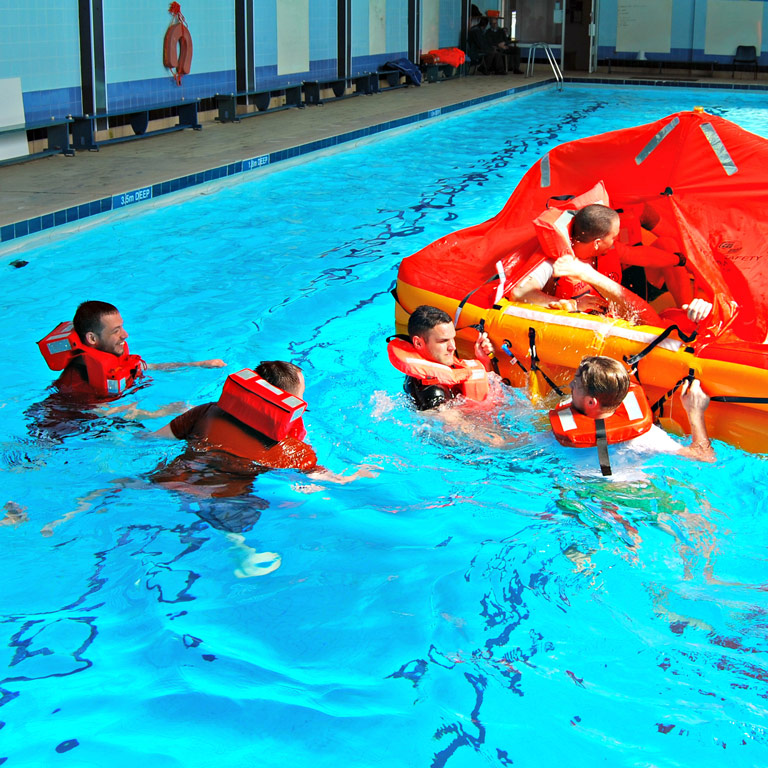 Bristol Maritime Commercial conducting water safety training